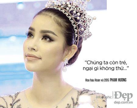 Pham Huong: 'Neu khong thong minh va ban linh se chang bao gio duoc dung hang dau' - Anh 5