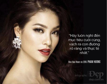 Pham Huong: 'Neu khong thong minh va ban linh se chang bao gio duoc dung hang dau' - Anh 6