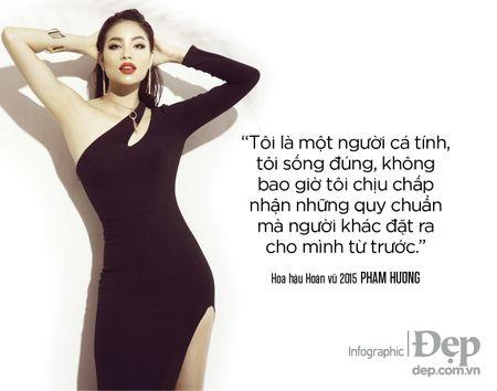 Pham Huong: 'Neu khong thong minh va ban linh se chang bao gio duoc dung hang dau' - Anh 8