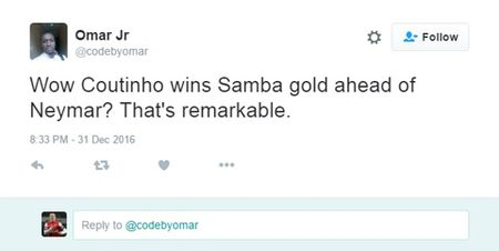 Coutinho danh bai Neymar de tro thanh Cau thu Brazil hay nhat choi bong tai chau Au - Anh 5