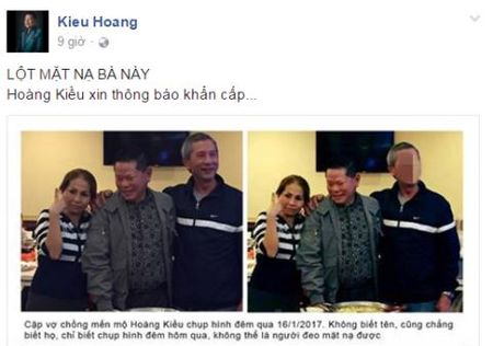 Hoang Kieu bao ve Ngoc Trinh: Nguoi phu nu la cai cam? - Anh 1