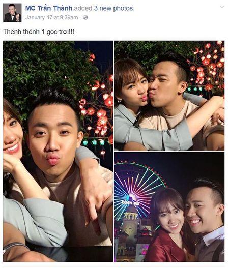 Tran Thanh tung clip ngot ngao 'ninh not' Hari Won, fan chet ngat - Anh 2