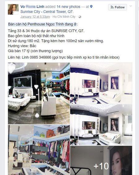 Ngoc Trinh rao ban can ho penthouse dang o tri gia 17 ty dong? - Anh 1