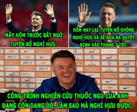 HAU TRUONG (19.1): Van Gaal 'nghien cuu thuoc ngu', Arsenal toi thang hoang dao - Anh 3