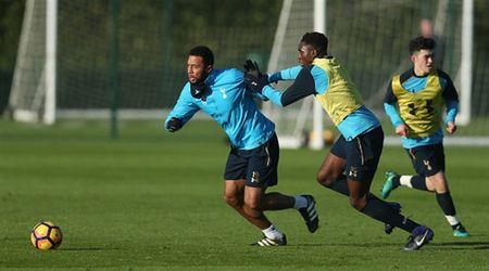 Sao Tottenham 'dau da' dien cuong truoc ngay gap Man City - Anh 2