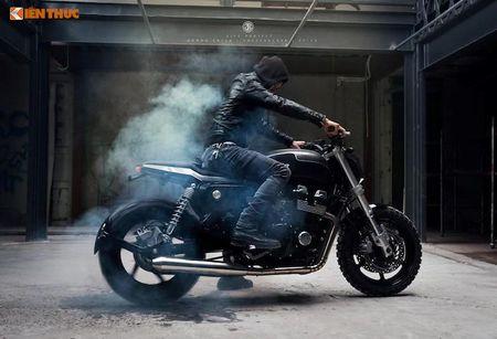 Honda CB750 'lot xac' cafe tracker don Tet tai Ha thanh - Anh 10