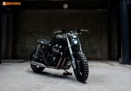 Honda CB750 'lot xac' cafe tracker don Tet tai Ha thanh - Anh 2