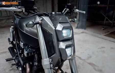 Honda CB750 'lot xac' cafe tracker don Tet tai Ha thanh - Anh 3