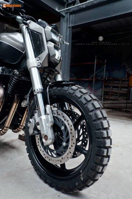 Honda CB750 'lot xac' cafe tracker don Tet tai Ha thanh - Anh 4