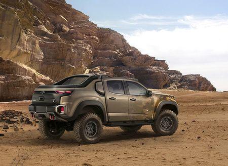 Colorado ZH2 - khi Chevrolet 'dan than' vao binh nghiep - Anh 10