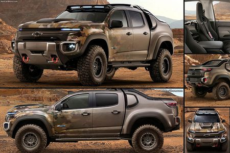 Colorado ZH2 - khi Chevrolet 'dan than' vao binh nghiep - Anh 11