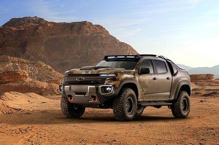 Colorado ZH2 - khi Chevrolet 'dan than' vao binh nghiep - Anh 1