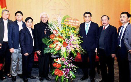 Hoi thanh Tin lanh Viet Nam (mien Bac) va Giao phan Bac Ninh chuc Tet UBND TP Ha Noi - Anh 2