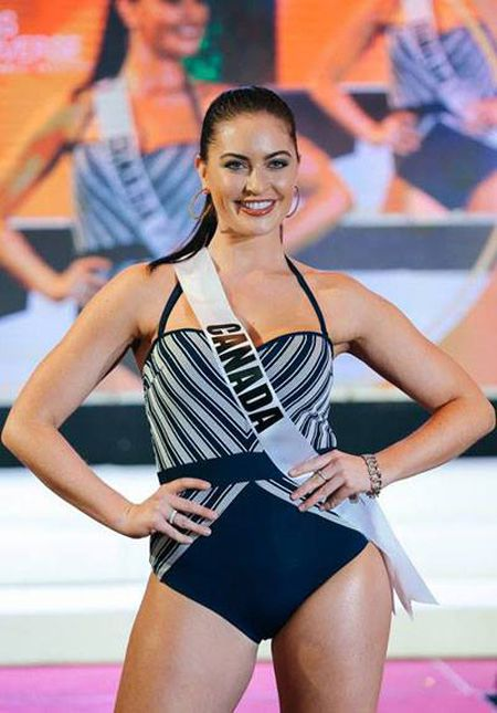 Nhieu thi sinh Miss Universe lo dui to - Anh 1