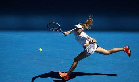 """Australian Open: My nhan Bouchard """"ho bao"""" dep xuat sac - Anh 4"""