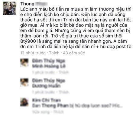 Ngoc Trinh, Hoang Kieu bi lat tay tao dau gia ao, day gia sieu sim? - Anh 4