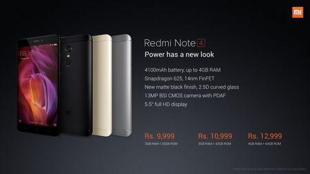 Xiaomi ra mat Redmi Note 4 dung Snapdragon 625, RAM 4GB, camera cai tien, them mau den nham - Anh 6
