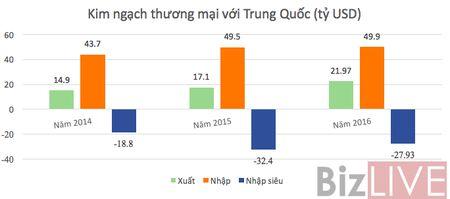 Viet Nam giam dan nhap sieu tu Trung Quoc - Anh 1