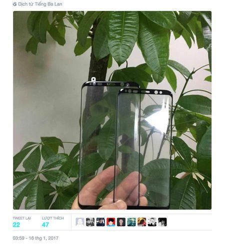 Xuat hien mat kinh Galaxy S8 voi nhieu chi tiet moi - Anh 1