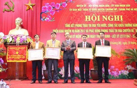 354 trieu dong ung ho phong trao thi dua yeu nuoc huyen Chuong My - Anh 1