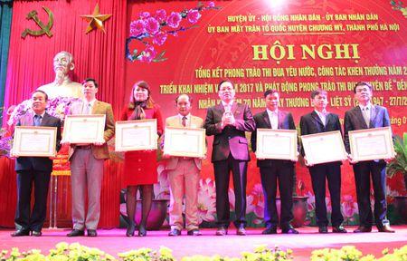354 trieu dong ung ho phong trao thi dua yeu nuoc huyen Chuong My - Anh 3