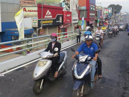 Tp. Ho Chi Minh: Thong xe nhanh cau vuot Nga 6 Go Vap - Anh 3