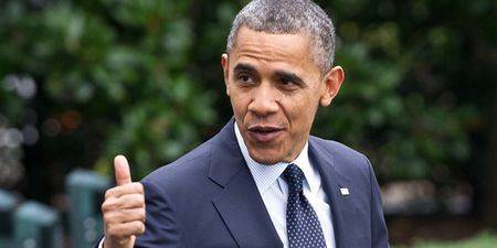 Tong thong Obama duoc tin nhiem cao nhat ke tu khi nham chuc - Anh 1