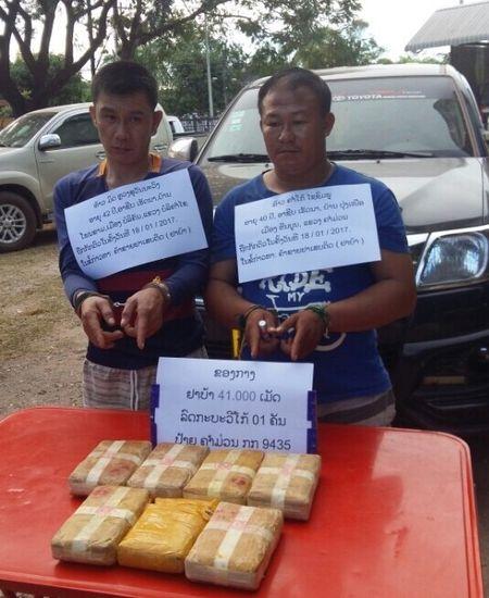 Quang Binh: Bat vu van chuyen 41 nghin vien ma tuy tren tuyen bien gioi - Anh 1