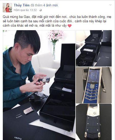 Tai sao dien thoai Vertu Thuy Tien tang Cong Vinh lai dat den vay? - Anh 1