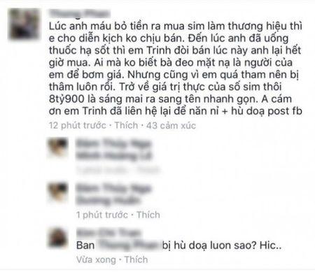 Dai gia Thong phan phao khi bi phia Ngoc Trinh chi trich tren truyen thong - Anh 3
