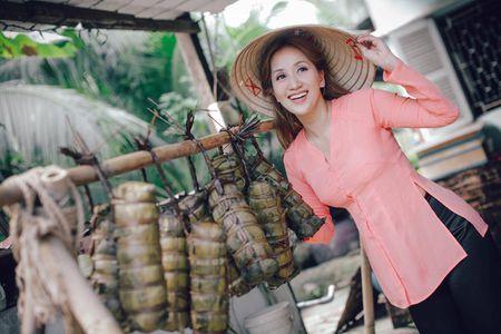 Gia dinh Khanh Thi - Phan Hien muon don Tet theo phong cach dan da - Anh 7