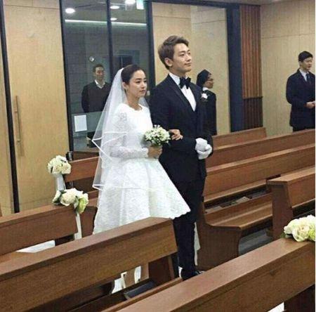 Kim Tae Hee rang ngoi hanh phuc trong dam cuoi voi Bi Rain - Anh 4