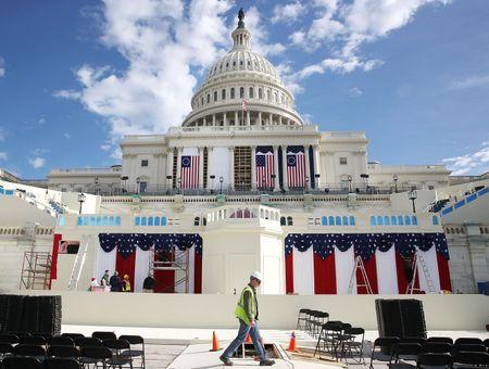 'Dai cong truong' Washington D.C. truoc ngay Trump nham chuc - Anh 7