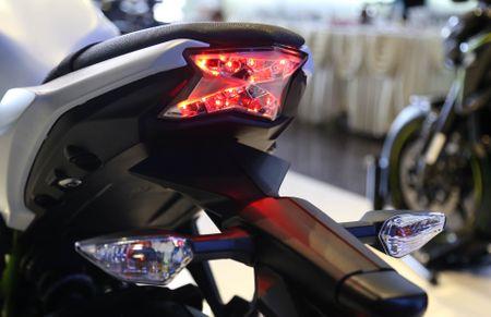 Chi tiet nakedbike gia mem Kawasaki Z650 vua ra mat tai VN - Anh 10