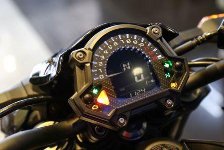 Chi tiet nakedbike gia mem Kawasaki Z650 vua ra mat tai VN - Anh 6