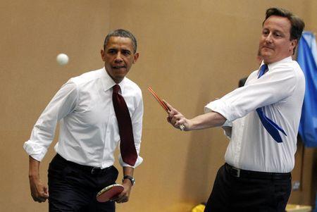 Chum anh: Ong Obama voi ban be va doi thu - Anh 4