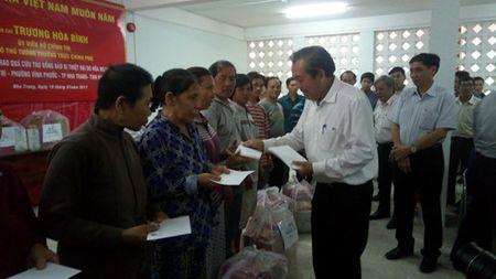 Pho Thu tuong: Khanh Hoa phai rut kinh nghiem trong viec chua chay - Anh 1