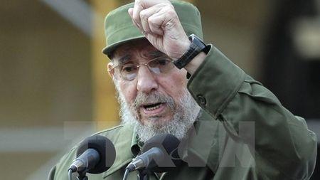 Khai mac hoi cho Sach Cuba ton vinh co lanh tu Fidel Castro - Anh 1