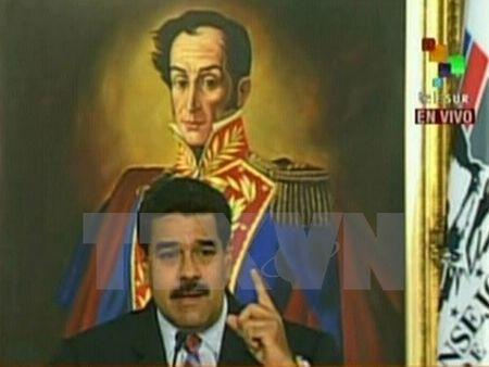 Tong thong Venezuela hoi thuc cac nuoc tang ho tro gia dau - Anh 1