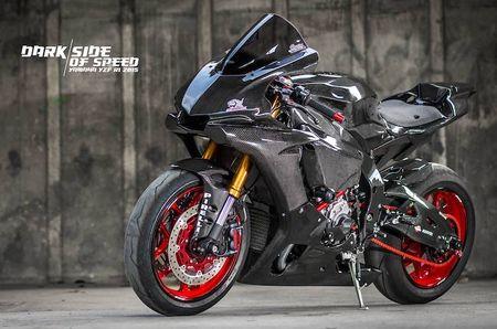 Sieu moto Yamaha R1 2015 do full carbon 'sieu khung' - Anh 1