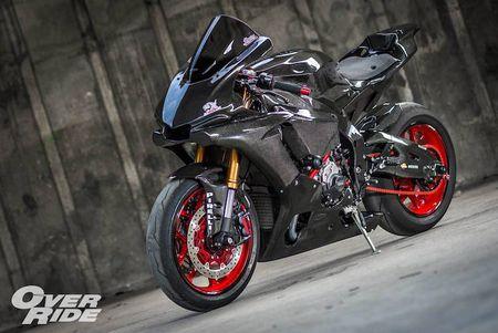 Sieu moto Yamaha R1 2015 do full carbon 'sieu khung' - Anh 3
