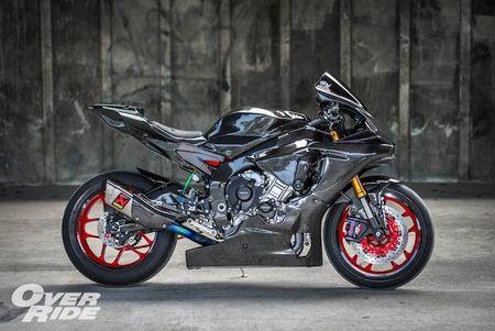Sieu moto Yamaha R1 2015 do full carbon 'sieu khung' - Anh 4