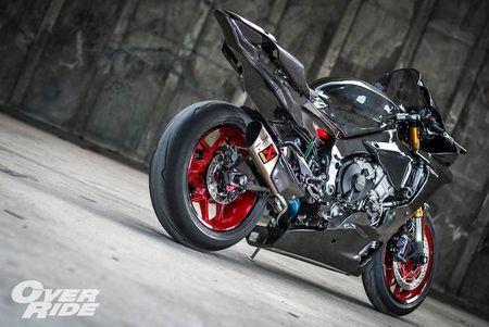 Sieu moto Yamaha R1 2015 do full carbon 'sieu khung' - Anh 5