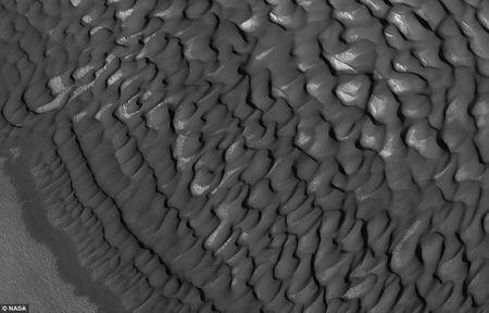 An tuong anh sao Hoa cuc 'chat' gui ve tu ve tinh HiRISE - Anh 2