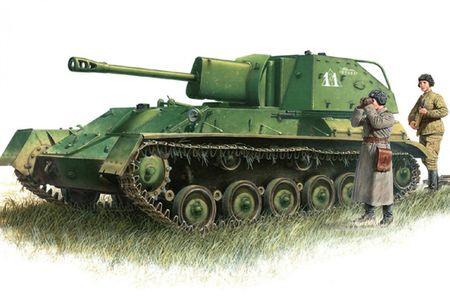 Hinh ve tuyet dep ve luc luong phao binh Lien Xo trong CTTG2 - Anh 6