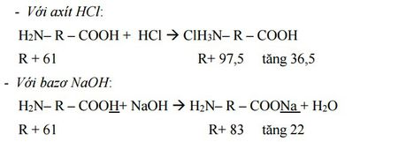 Kinh nghiem giai cac bai toan ve Amin - Aminoaxit (Hoa hoc 12) - Anh 10