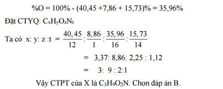 Kinh nghiem giai cac bai toan ve Amin - Aminoaxit (Hoa hoc 12) - Anh 16