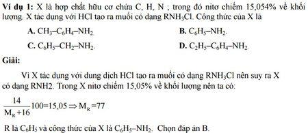 Kinh nghiem giai cac bai toan ve Amin - Aminoaxit (Hoa hoc 12) - Anh 1