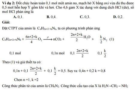 Kinh nghiem giai cac bai toan ve Amin - Aminoaxit (Hoa hoc 12) - Anh 8
