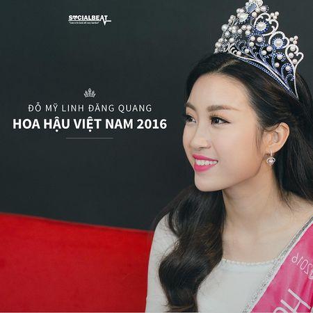 Hoa hau Do My Linh: No luc de hoan thien minh moi ngay - Anh 1